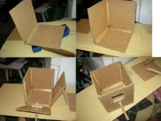 Как сделать дом из двп 57