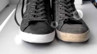 Якщо шнурки дуже брудні і не вичищаються господарським милом d1845a4036518