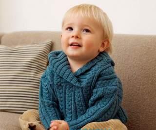 Які нитки і спиці знадобляться для дитячого вбрання  e871bd4a72f8c