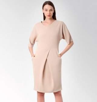 Викрійка сукні з цільнокроєним рукавом  як зшити плаття самостійно ... 4cd53bb7c05f2
