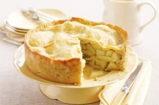 шарлотка з яблуками пісочне рецепт