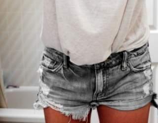 Як з джинс зробити модні шорти своїми руками  принципи і секрети ... 2bce0424c628d