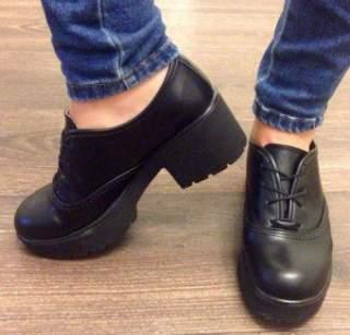 З чим правильно носити взуття на тракторній підошві ~ Жіночий сайт ... ea2e052d6432a