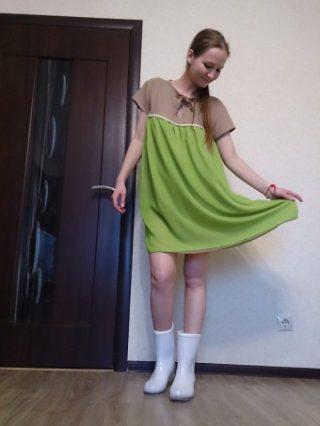 Як підібрати сукню бебі-дол і з чим її можна поєднувати ~ Жіночий ... 8d14ff9273f8d